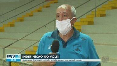 Jogadores do Vôlei Ribeirão ficam sem contrato e clube espera por patrocinadores - A superliga de vôlei encerrou a temporada sem um campeão, por causa da pandemia.
