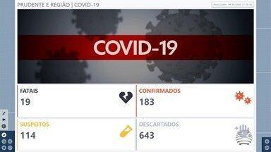 Confira as atualizações dos casos de Covid-19 no Oeste Paulista - Marcelo Pereira traz os detalhes das cidades com mais casos na região de Presidente Prudente.