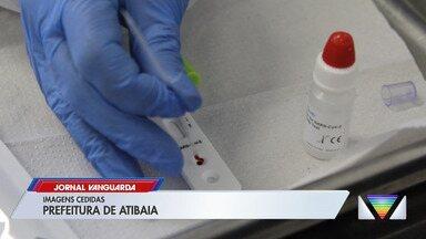Atibaia recebe 1.300 testes rápidos de coronavírus - Confira reportagem do Jornal Vanguarda desta quarta-feira (6).