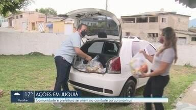 Comunidade e Prefeitura de Juquiá se unem no combate ao coronavírus - Cidade do Vale do Ribeira tem diversas ações para combater a doença causada pelo vírus.