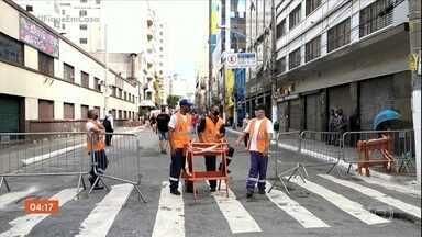 Prefeito de SP não descarta o lockdown - Prefeitura vai anunciar, em breve, novas medidas para reforçar o isolamento.