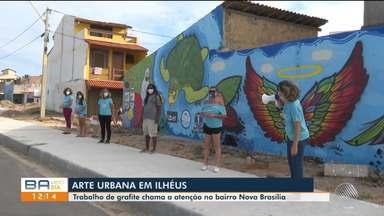 Festival de grafite relembra o desastre do derramamento de óleo em praias do nordeste - Confira.