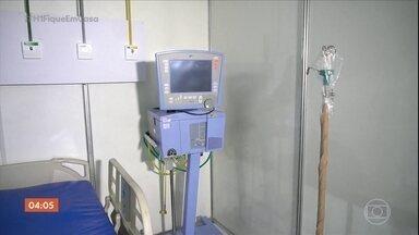 Ministro da Saúde diz que governo não está conseguindo comprar mais respiradores - Um lote de respiradores comprados na Ásia não chegou ao país.