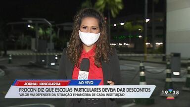 Procon diz que escolas particulares devem dar descontos - Confira reportagem do Jornal Vanguarda desta sexta-feira (8).