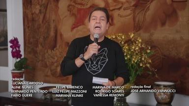 Programa de 10/05/2020 - Programa revive apresentações de artistas como Xuxa, Angélica, Sandy&Junior, Balão Mágico e Mara Maravilha, além de homenagem a Hebe Camargo.