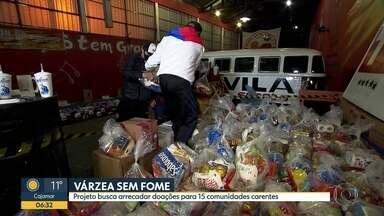 Notícias do esporte - Projeto na várzea busca arrecadar doações para comunidades carentes