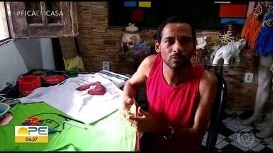 Artesão dá dica de customizações feitas durante período de isolamento social - Dicas de Alexandre Duarte podem servir como maneiras de ganhar renda extra.