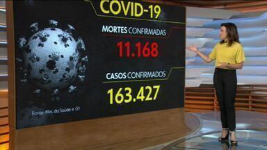 Brasil tem mais de 11 mil mortos pela Covid-19 - Cinco estados já somam mais de mil vítimas, cada um. A taxa de isolamento social vem caindo, enquanto o número de mortes tem se multiplicado.