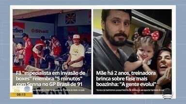 Paulo Taroco conta as novidades do esporte regional - Veja os destaques do GloboEsporte.com