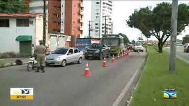 Começa rodízio de veículos em São Luís - De acordo com anúncio do governo do estado as placas ímpares só poderão circular na cidade nesta segunda (11) e quarta (13) e as pares só terão liberação na terça (12) e quinta (14).