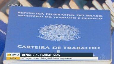Ministério do Trabalho no Amapá registra aumento nas irregularidades durante a pandemia - Ministério do Trabalho no Amapá registra aumento nas irregularidades durante a pandemia