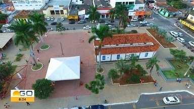 """Aparecida de Goiânia comemora aniversário de 98 anos nesta segunda-feira (11) - Campanha quer reunir imagens da cidade feitas de diferentes """"janelas""""."""