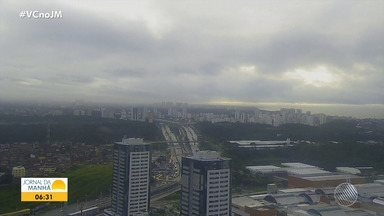 Previsão do tempo: Salvador amanhece com chuva neste início de semana - Veja as informações meteorológicas para a capital e o interior baiano.