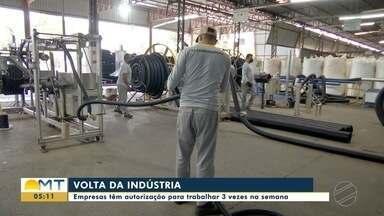 Indústria volta em Cuiabá - Indústria volta em Cuiabá