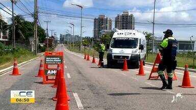 Praia do Futuro tem acesso bloqueado - Saiba mais em g1.com.br/ce