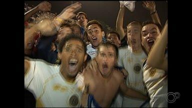 Acesso do São Bento à Série A2 completa sete anos nesta segunda-feira - Empate levou equipe de volta à segunda divisão estadual.