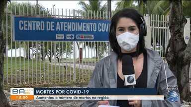 Número de mortes por coronavírus aumenta na região sul da Bahia - Nesta segunda-feira (11), todos os municípios da região registravam casos da doença.