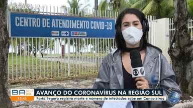Porto Seguro registra morte e número de infectados sobe em Canavieiras - Região sul da Bahia sofre com a pandemia de Covid-19.