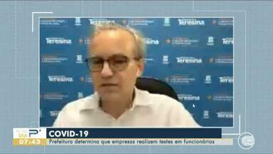 Decreto determina que empresas realizem testes de COVID-19 nos funcionários - Decreto determina que empresas realizem testes de COVID-19 nos funcionários