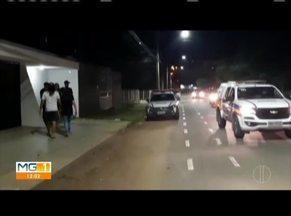 Tentativa de assalto é registrada no bairro Santo Agostinho, em Governador Valadares - Criminosos fugiram sem levar nada, segundo a PM. Um helicóptero foi utilizado nas buscas, mas os suspeitos ainda não foram encontrados.