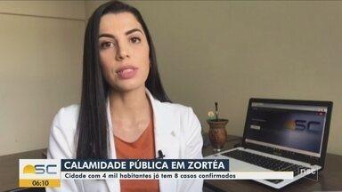 Com quatro mil habitantes, município de Zortéa registra oito casos de Covid-19 - Com quatro mil habitantes, município de Zortéa registra oito casos de Covid-19