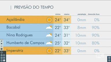 Veja as variações das temperaturas no Maranhão - Confira a previsão do tempo nesta terça-feira (12) em São Luís e também no interior do estado.