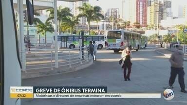 Empresas entram em acordo com motoristas do transporte coletivo em Ribeirão Preto, SP - A paralisação havia sido motivada pela falta de pagamento, segundo sindicato.