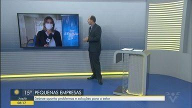 Sebrae faz levantamento sobre a situação das empresas na pandemia - Pesquisa foi feita pelo telefone entre os dias 3 e 7 de abril.