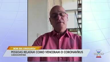 Profissionais da saúde de Caraguá se curam da Covid-19 - Eles relatam como venceram o vírus.