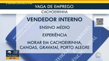 Empresa de Cachoeirinha tem oportunidade para vendedor interno - Acesse o g1.com.br/rs e veja os detalhes.