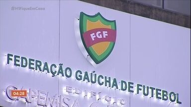 Retorno do Gauchão deve ser decidido nesta quarta-feira - Retorno do Gauchão deve ser decidido nesta quarta-feira.