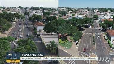 Confira o comportamento dos moradores de Ribeirão Preto durante a quarentena - Relaxamento do distanciamento social aumenta na cidade.