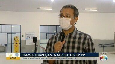 Presidente Prudente recebe testes rápidos para Covid-19 - Veja as últimas notícias sobre a pandemia.