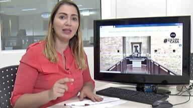 Pinacoteca de São Paulo faz a primeira exposição on-line - Veja como fazer o tour virtual.