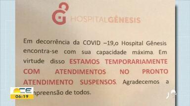 Cremec adverte que hospitais particulares não recusem atendimento - Saiba mais em g1.com.br/ce