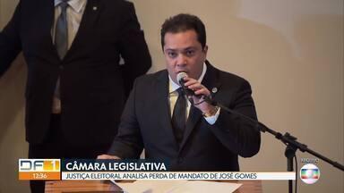 Ministério Público pede cassação do mandato do distrital José Gomes, do PSB - Assunto vai ser analisado pelo TSE.