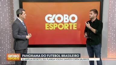 GE no DF1: fim das tratativas para trazer o Cariocão para o Mané Garrincha - Bloco também trouxe campeonato de futebol virtual dos boleiros, UFC e a definição da data de volta do futebol em Portugal
