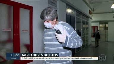Dono de empresas investigadas por venda de respiradores é preso - Maurício Fontoura é um dos investigados pelo Ministério Público.