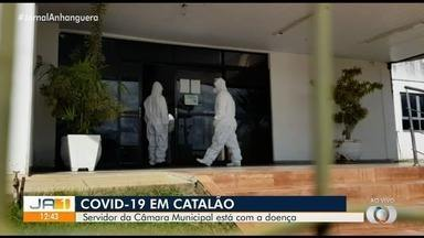 Câmara de Catalão fecha após assessor testar positivo para Covid-19 - O local estava funcionando normalmente antes do resultado do exame.