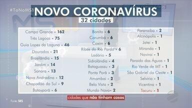 Brasilândia registra uma morte e vítimas de COVID-19 chegam a 13 em MS - Vítima teria participado de festa e estava internada em Três Lagoas