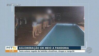 """PM acaba com """"festa"""" em Tangará, pela segunda vez - PM acaba com """"festa"""" em Tangará, pela segunda vez."""