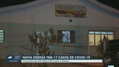 Funcionária de asilo em Nova Odessa é diagnosticada com novo coronavírus - Prefeitura de Nova Odessa (SP) divulgou nesta quarta-feira (13) resultados de teste rápido feito na Casa de Repouso Recanto dos Girassóis. Um homem de 76 anos atendido pela instituição morreu por causa da doença, na semana passada.