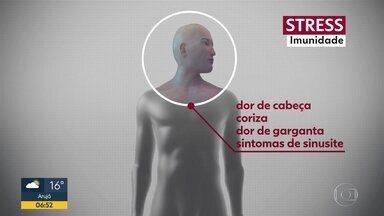 Pensamento negativos podem afetar o corpo - Sistema imunológico se desequilibra quando nos preocupamos muito.