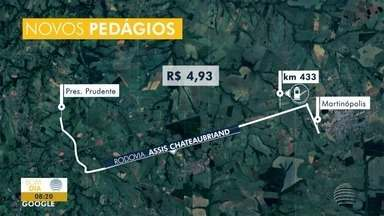Contrato para concessão de rodovias deve ser assinado - Novas praças de pedágio podem ser instaladas na região.