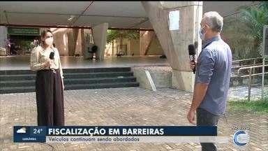 Veículos continuam sendo abordados em barreiras do Piauí - Veículos continuam sendo abordados em barreiras do Piauí