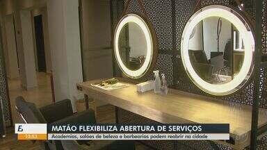 Matão inclui academias, salões de beleza e barbearias como serviços essenciais - Decreto foi publicado na quarta-feira (13) e funcionamento está condicionado a uma série de regras.