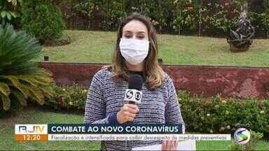 Fiscalização é intensificada para coibir desrespeito às medidas preventivas ao coronavírus - Municípios têm intensificado as fiscalizações para garantir o cumprimento das medidas.