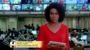 No dia da queda de mais um ministro da Saúde, Brasil passa de 14 mil mortes pela Covid-19 - Casos confirmados passam 211 mil, segundo secretarias.