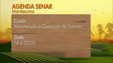 Confira os cursos oferecidos pelo Senar em parceria com os Sindicatos Rurais - De 18 a 22 de maio, em Montezuma, é oferecido o curso de Manutenção e Operação de Tratores.