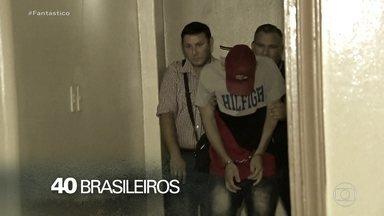 Operação prende bandidos brasileiros que passaram anos escondidos fora do país - Investigação internacional, que começou antes da pandemia, prendeu bandidos brasileiros que passaram anos escondidos fora do país. Os criminosos presos usavam todo tipo de artimanha para despistar a polícia. Um simulou a própria morte.